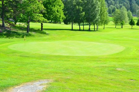 Overview of golf course named Vasteras Golfklubb