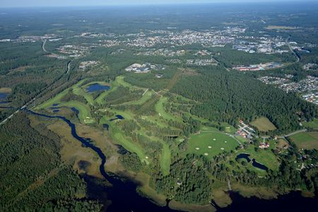 Overview of golf course named Vetlanda Golfklubb
