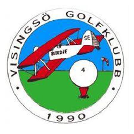 Logo of golf course named Visingso Golfklubb