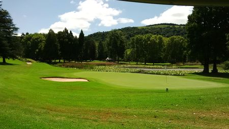 Overview of golf course named Bosch Hoek Golf Club