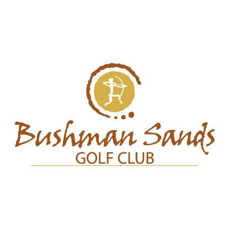 Logo of golf course named Bushman Sands Golf Club