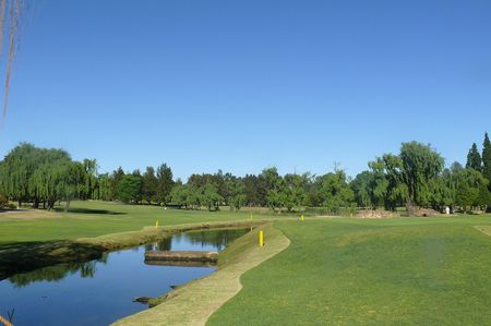 Overview of golf course named Germiston Golf Club