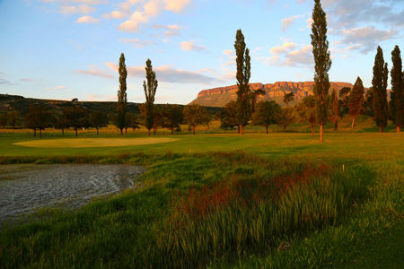 Overview of golf course named Harrismith Country Club