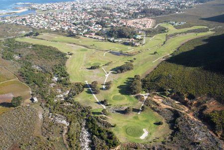 Overview of golf course named Kleinmond Golf Club