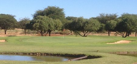 Overview of golf course named Kuruman Country Club
