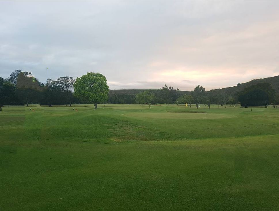 Overview of golf course named Riversdale Golf Club