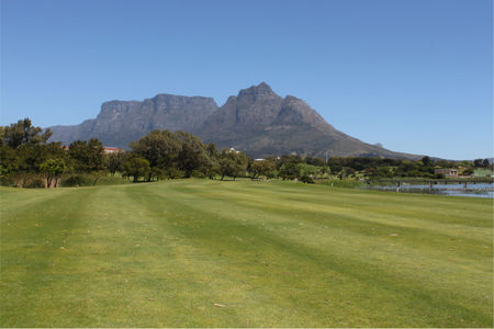 Overview of golf course named Rondebosch Golf Club