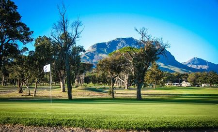 Overview of golf course named Somerset West Golf Club