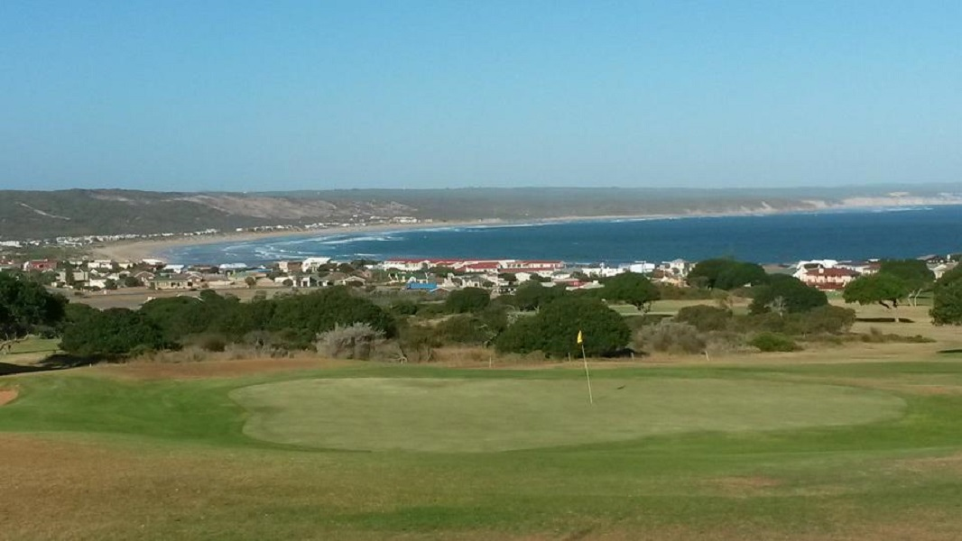 Overview of golf course named Stilbaai Golf Club