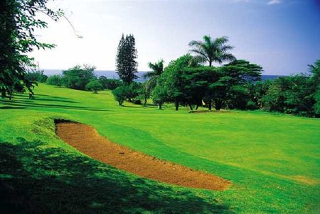 Overview of golf course named Umkomaas Golf Club