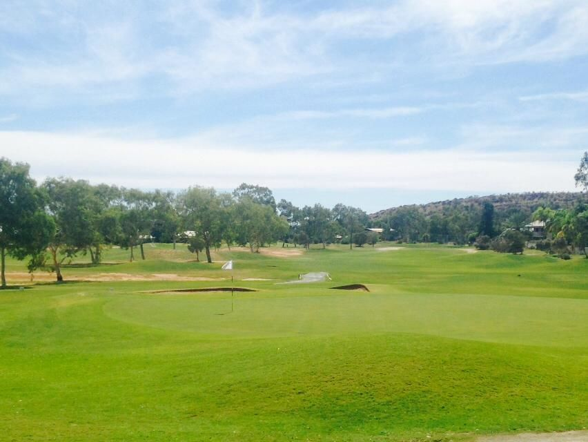 Alice springs golf club cover picture