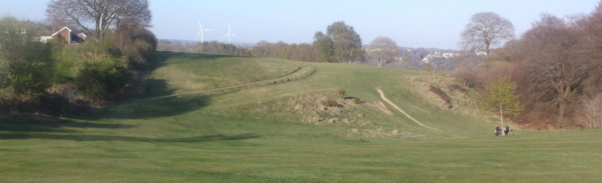 Blackwood golf club cover picture
