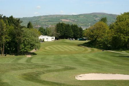 Overview of golf course named Caerphilly Golf Club