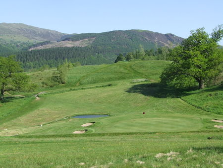 Overview of golf course named Dolgellau Golf Club
