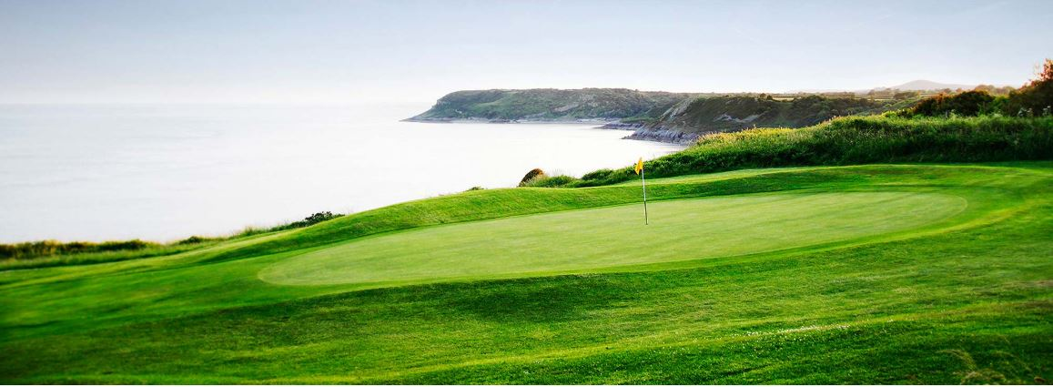 Overview of golf course named Langland Bay Golf Club