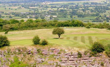 Overview of golf course named Llanymynech Golf Club