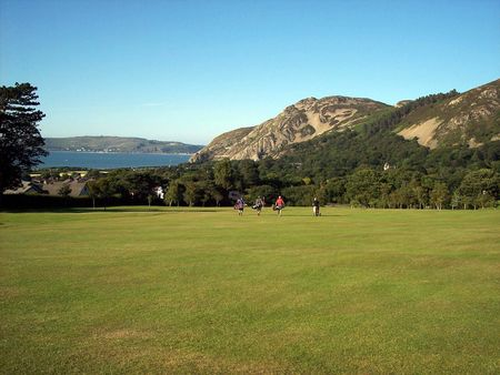 Overview of golf course named Penmaenmawr Golf Club