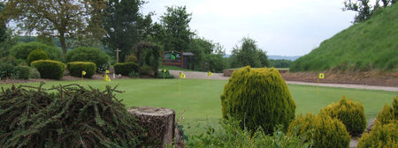Overview of golf course named Raglan Parc Golf Club
