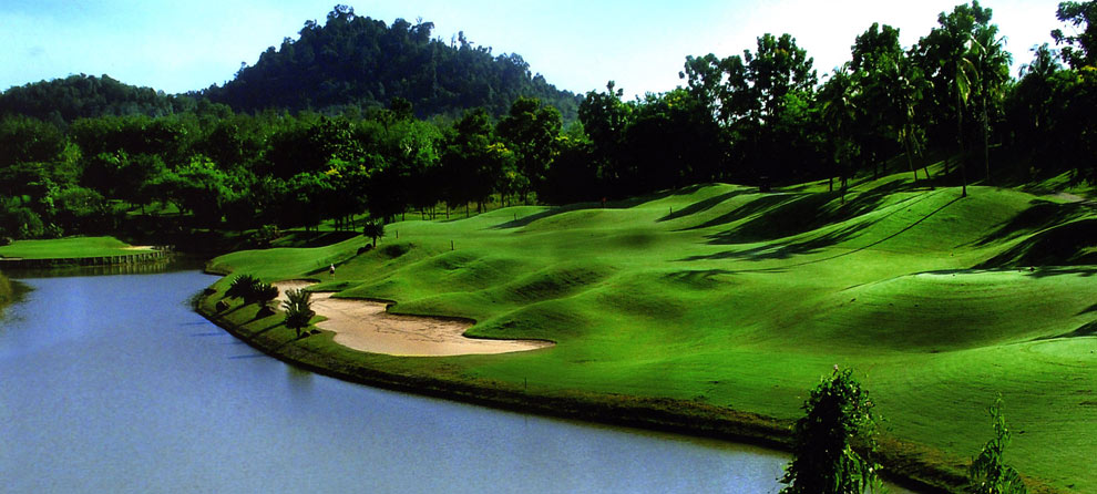Overview of golf course named A'Famosa Golf Resort