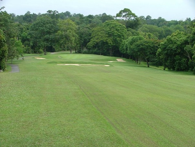 Overview of golf course named Ayer Keroh Country Club