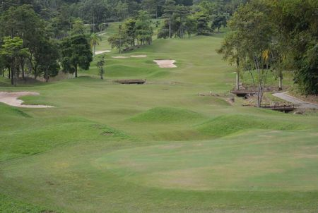 Overview of golf course named Berjaya Hills Golf and Country Club