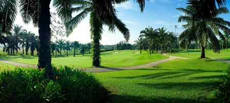 Overview of golf course named Bukit Kemuning Golf Club