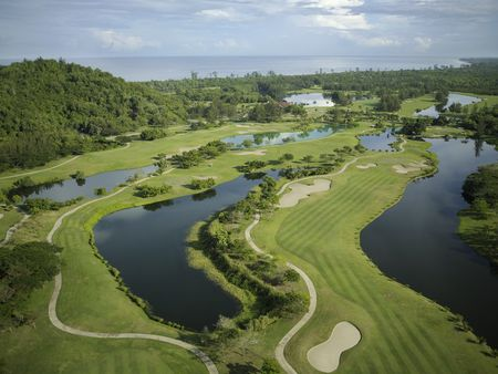 Overview of golf course named Dalit Bay Golf and Country Club