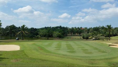 Overview of golf course named Ioi Palm Villa Golf and Country Resort