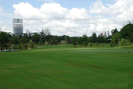 Overview of golf course named Kelab Golf Sarawak