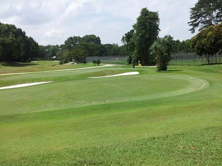 Overview of golf course named Kluang Country Club