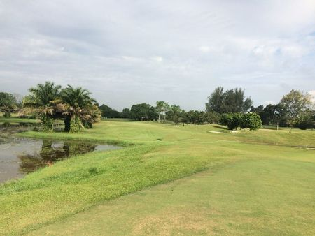 Overview of golf course named Kundang Lakes Country Club