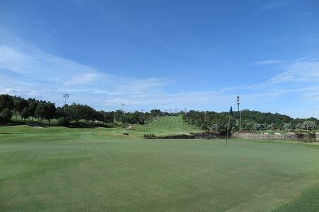 Overview of golf course named Palm Garden Golf Club