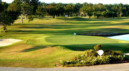 Overview of golf course named Penang Golf Resort