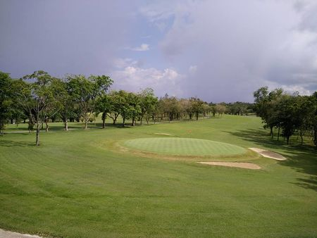 Overview of golf course named Sibu Golf Club