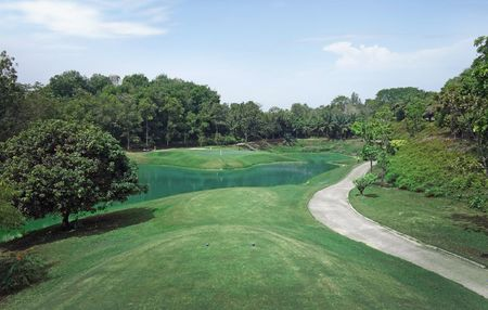 Overview of golf course named Tasik Puteri Golf and Country Club