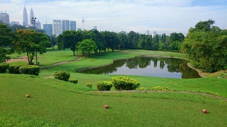 Overview of golf course named Titiwangsa Police Force Golf Club
