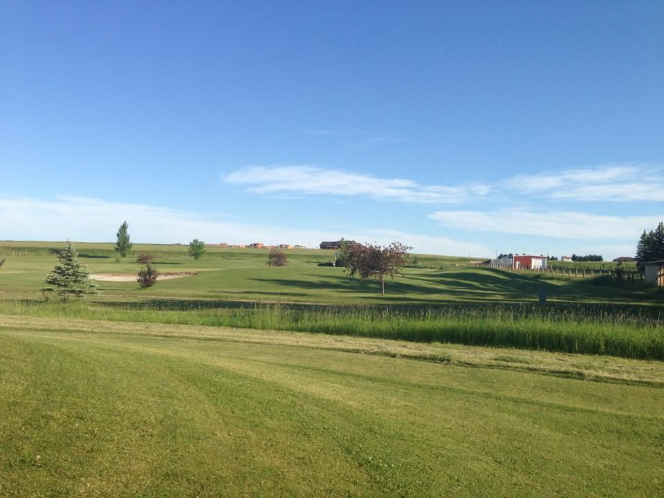 Harvest hills golf course cover picture