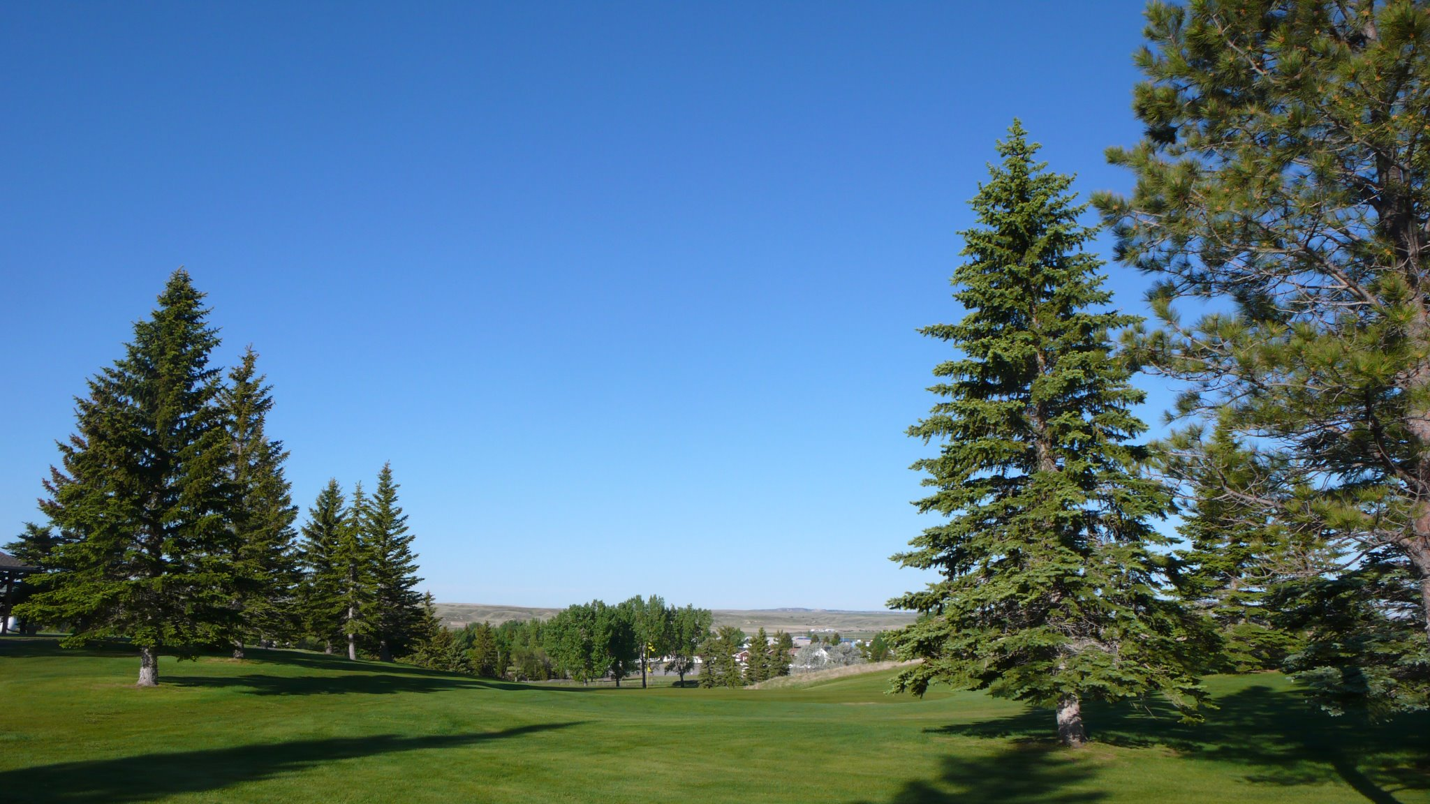 Overview of golf course named Plentywood Golf Club
