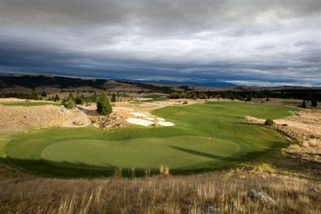 Overview of golf course named Rock Creek Cattle Company
