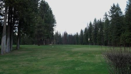 Overview of golf course named Thompson Falls Golf Club