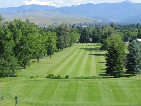 Overview of golf course named University of Montana Golf Course, The