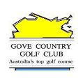 Logo of golf course named Gove Country Golf Club