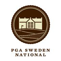 Logo of golf course named PGA of Sweden National