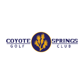 Logo of golf course named PGA Village at Coyote Springs