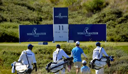 Cover of golf event named WORLD AMATEUR TOUR