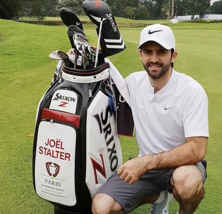 Paris international golf club joel stalter checkin picture