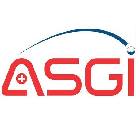 Logo of golf course named Association Suisse Des Golfeurs Independants (Asgi)