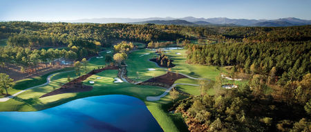 Overview of golf course named The Cliffs at Keowee Falls