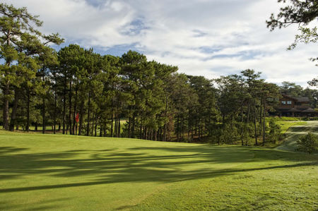 Overview of golf course named Camp John Hay Golf Course