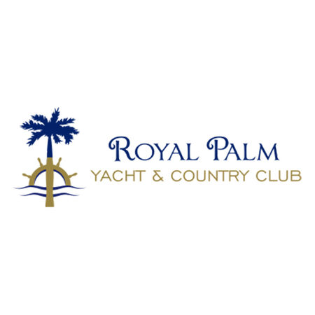 Logo of golf course named Royal Palm Yacht and Country Club